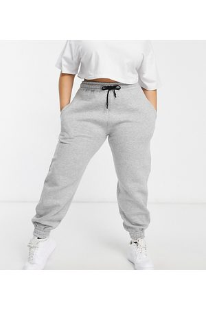 PUBLIC Relaxed sweatpants in heather -Grey