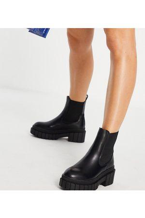 Public Desire Zenya chunky chelsea boots in