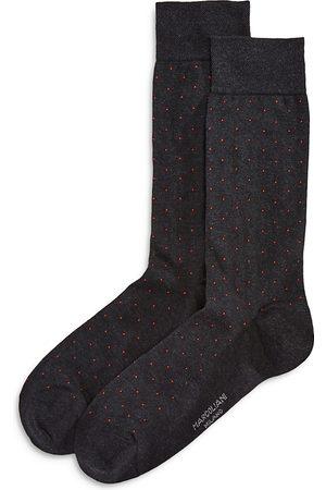Marcoliani Men Socks - Lisle Pin-Dot Socks