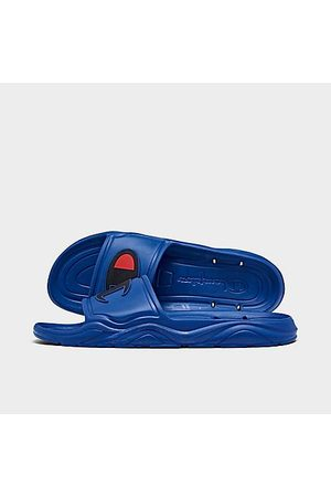 Champion Men's Hydro C Side Sandals in /Royal