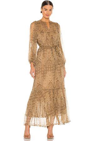 Mes Demoiselles Cartier Dress in Tan.