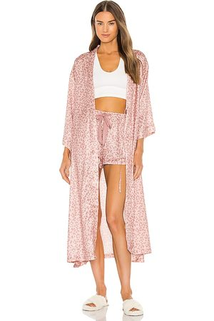 homebodii Sali Robe in Blush.