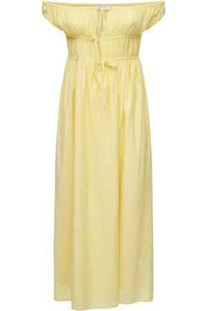 GIMAGUAS Women Strapless Dresses - Antonia Off-the-shoulder Cotton Dress