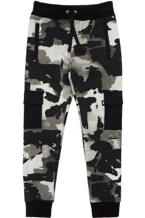 Dolce & Gabbana Camouflage Cotton Sweatpants