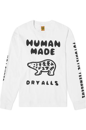 HUMAN MADE Long Sleeve Polar Bear Tee