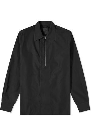 Givenchy Men Shirts - Classic Fit Half Zip Shirt