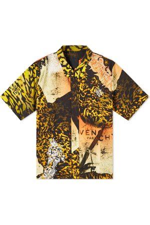 Givenchy Men Short sleeves - Mash Up Short Sleeve Shirt
