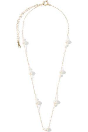 Mizuki Women Necklaces - Akoya-pearl & 14kt Gold Choker - Womens - Pearl