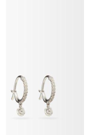 Raphaele Canot Diamond & 18kt - Hoop Earrings - Womens