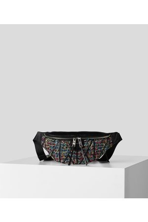 Karl Lagerfeld Women Bags - K/STUDIO MULTICOLORED TWEED BELT BAG