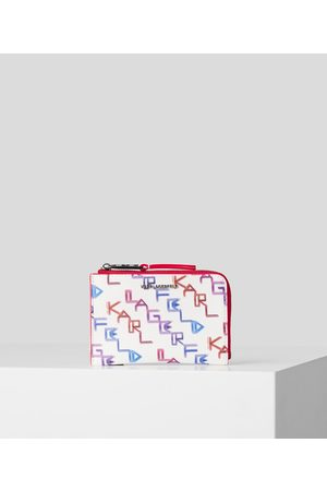 Karl Lagerfeld Women Purses - K/KARL SEVEN ARCADE ZIPPERED CARDHOLDER