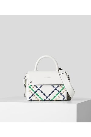 Karl Lagerfeld Women Purses - K/IKON WHIPSTITCH MINI TOP-HANDLE BAG