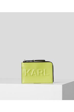 Karl Lagerfeld K/KARL SEVEN EMBOSSED CARDHOLDER