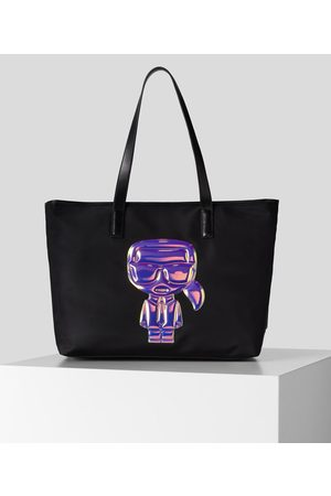 Karl Lagerfeld Women Tote Bags - K/IKONIK BALLOON KARL TOTE BAG