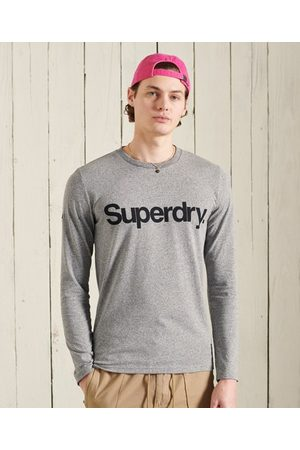 Superdry Men Long sleeves - Military Long Sleeved Graphic Top