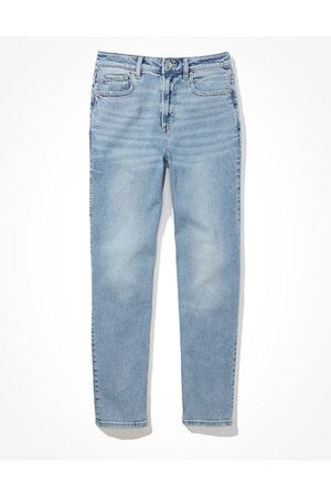 American Eagle Outfitters Stretch Straight Mom Jean Women's 2 Regular