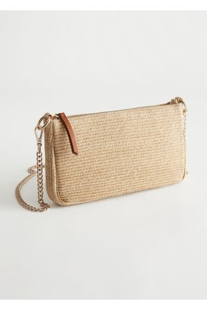 & OTHER STORIES Women Purses - Woven Straw Crossbody Bag