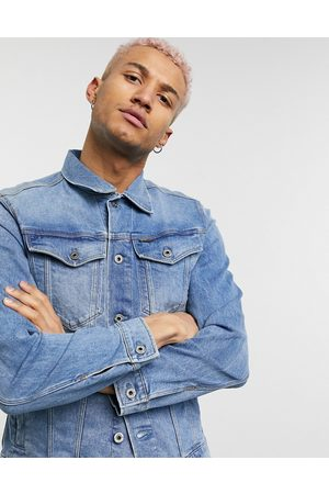 G-Star Slim fit denim jacket in lightwash-Blues