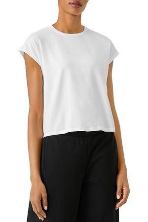 Eileen Fisher Women T-shirts - Boxy Crewneck Tee