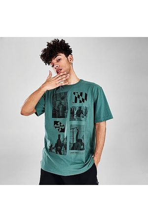 Under Armour Men T-shirts - Men's x DVNLLN Collage T-Shirt in /Toddy Size Small Cotton/Polyester