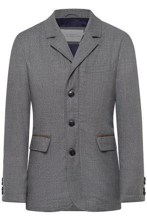 Hackett Sr Lightweight Flannel Blazer XL Grey