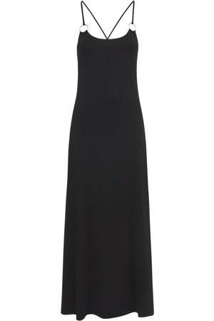Max Mara Viscose Crepe Long Dress