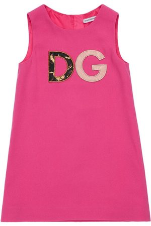 Dolce & Gabbana Girls Dresses - Stretch Cady A-line Dress