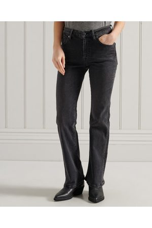 Superdry Women Slim - Mid Rise Slim Flare Jeans