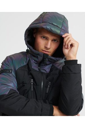 Superdry Men Puffer Jackets - Aeon Holographic Padded Jacket