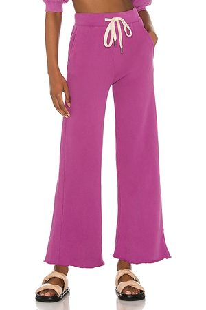 NSF Delilah A Line Lounge Pant in Pink.