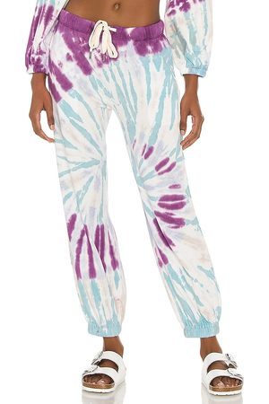 NSF Kane Balloon Hem Lounge Pant in ,Blue.