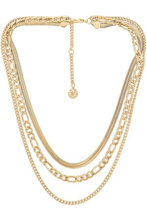 8 Other Reasons Women Necklaces - Electric Feel Necklace in Metallic .