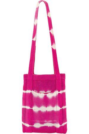 LOVESHACKFANCY Love Shack Fancy Focault Crossbody Bag in Pink.