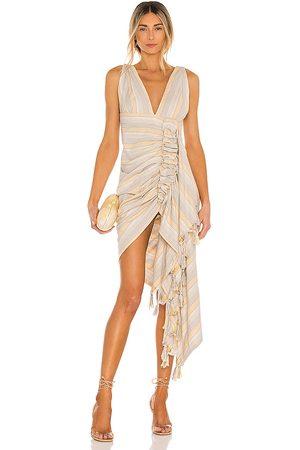 Just BEE Queen Tulum Dress in Tan.