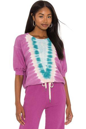 NSF Minnie Raglan Sweatshirt in Purple.