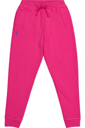 Ralph Lauren Girls Pants - Cotton-blend sweatpants