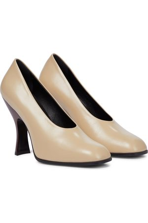 The Row Women Pumps - Jade leather pumps