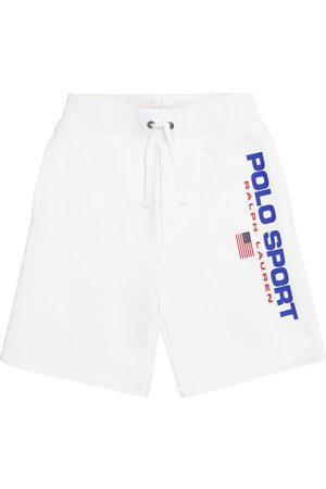 Ralph Lauren Boys Shorts - Logo cotton-blend shorts