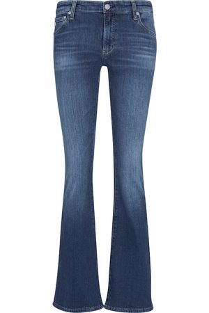 AG Jeans Low-rise bootcut jeans