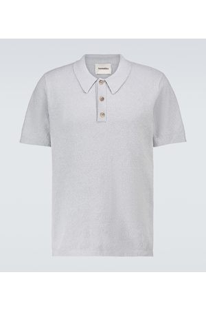 Nanushka Marus knitted short-sleeved polo