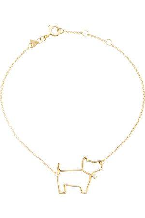 Aliita Women Bracelets - Perrito Brillante 9kt bracelet with diamond