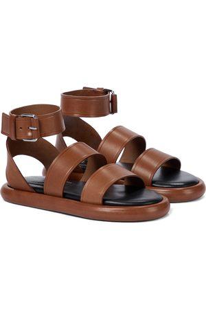 Proenza Schouler Women Sandals - Pipe leather sandals