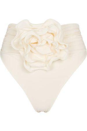 MAGDA BUTRYM Women Bikinis - Ruffe-trimmed bikini bottoms