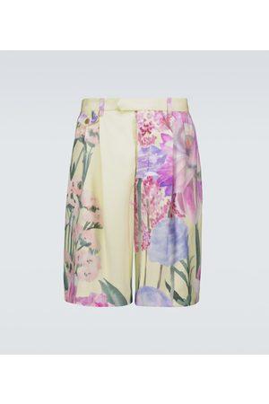 King and Tuckfield Floral printed shorts