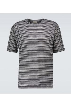 Saint Laurent Striped short-sleeved T-shirt