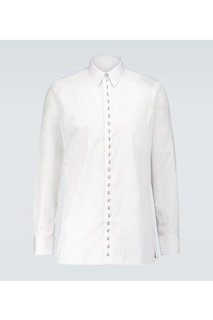 Givenchy Metallic ring long-sleeved shirt