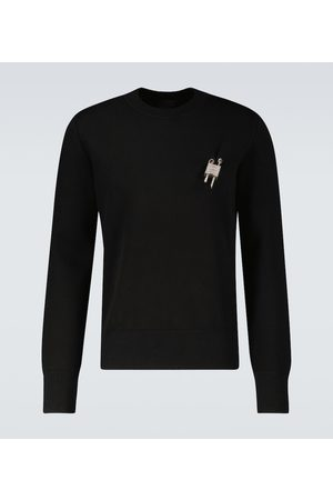 Givenchy Love Lock crewneck sweater