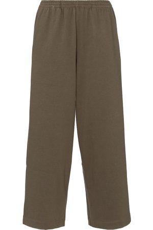 Vince Women Wide Leg Pants - Wide-leg cotton sweatpants