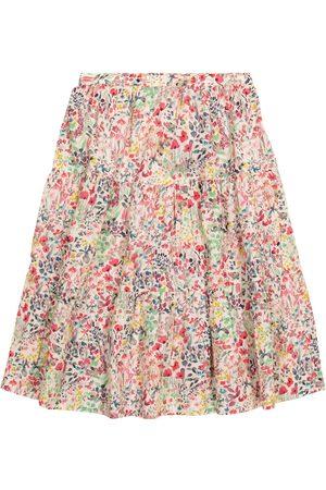 BONPOINT Girls Printed Skirts - Lise Liberty-print cotton skirt
