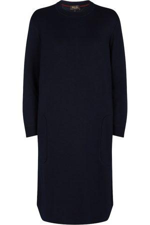 Loro Piana Beau Rivage silk sweater dress